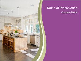 Modern Kitchen PowerPoint Templates - Slide 1