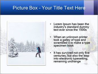 Winter forest PowerPoint Templates - Slide 13