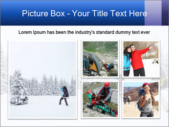 Winter forest PowerPoint Templates - Slide 19