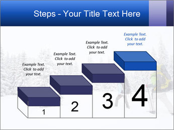 Winter forest PowerPoint Templates - Slide 64