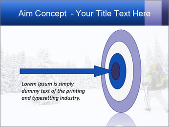 Winter forest PowerPoint Templates - Slide 83