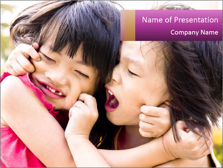 Playful Asian PowerPoint Templates