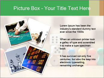 Pieces and Dices PowerPoint Templates - Slide 23