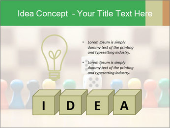 Pieces and Dices PowerPoint Template - Slide 80