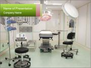 Empty operation room PowerPoint Templates
