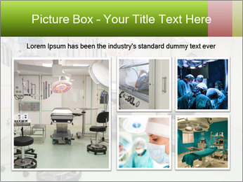 Empty operation room PowerPoint Templates - Slide 19