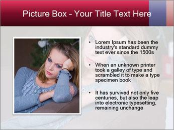 Sad woman PowerPoint Templates - Slide 13