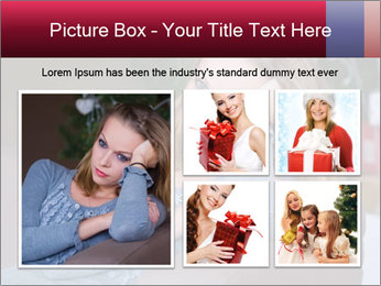 Sad woman PowerPoint Templates - Slide 19