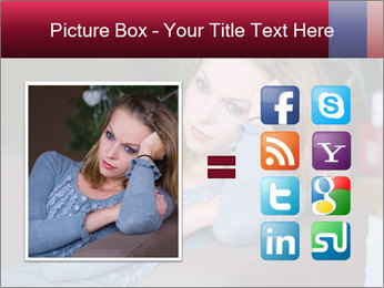 Sad woman PowerPoint Templates - Slide 21
