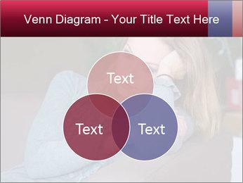 Sad woman PowerPoint Templates - Slide 33