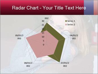 Sad woman PowerPoint Templates - Slide 51