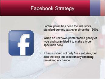 Sad woman PowerPoint Templates - Slide 6