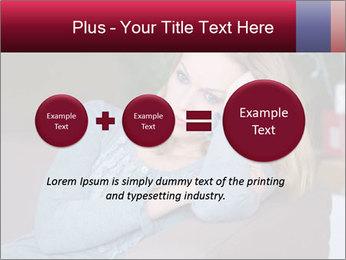 Sad woman PowerPoint Templates - Slide 75