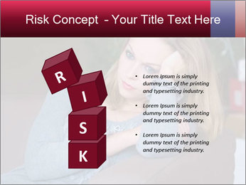 Sad woman PowerPoint Templates - Slide 81