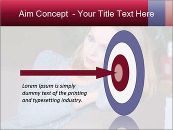 Sad woman PowerPoint Templates - Slide 83