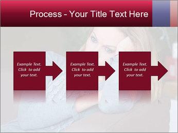Sad woman PowerPoint Templates - Slide 88