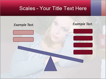 Sad woman PowerPoint Templates - Slide 89