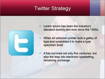 Sad woman PowerPoint Templates - Slide 9
