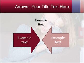 Sad woman PowerPoint Templates - Slide 90