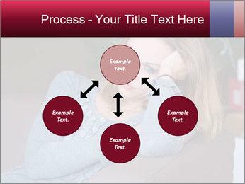 Sad woman PowerPoint Templates - Slide 91