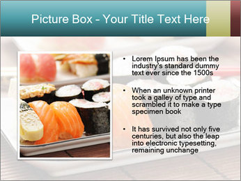 Sushi set PowerPoint Template - Slide 13