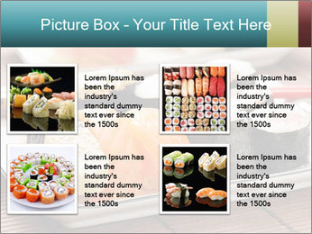 Sushi set PowerPoint Template - Slide 14