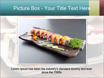 Sushi set PowerPoint Template - Slide 15