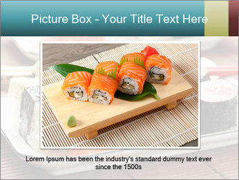 Sushi set PowerPoint Template - Slide 16