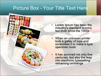 Sushi set PowerPoint Template - Slide 17