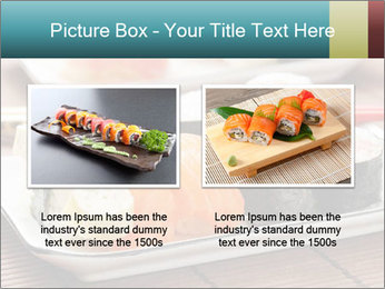 Sushi set PowerPoint Template - Slide 18
