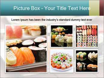 Sushi set PowerPoint Template - Slide 19