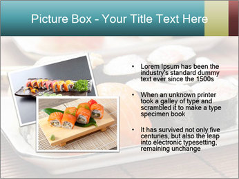 Sushi set PowerPoint Template - Slide 20