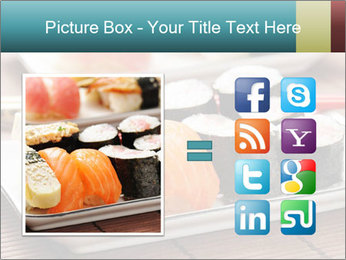 Sushi set PowerPoint Template - Slide 21