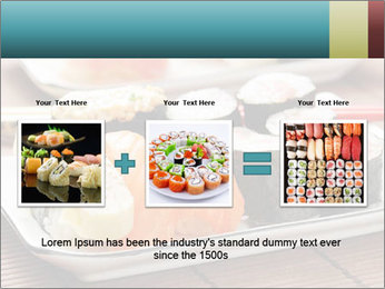 Sushi set PowerPoint Template - Slide 22