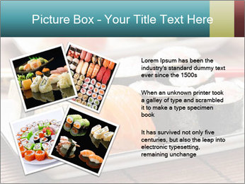 Sushi set PowerPoint Template - Slide 23