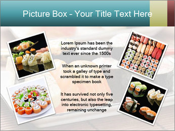 Sushi set PowerPoint Template - Slide 24