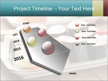 Sushi set PowerPoint Template - Slide 26