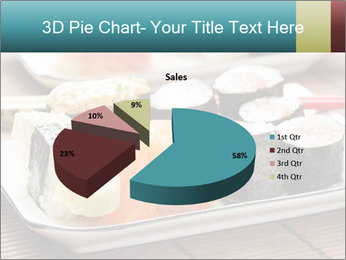 Sushi set PowerPoint Template - Slide 35