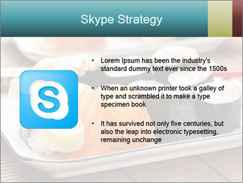 Sushi set PowerPoint Template - Slide 8