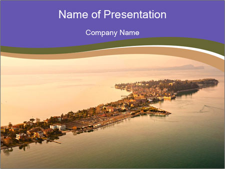 Aerial view PowerPoint Templates