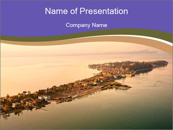 Aerial view PowerPoint Templates - Slide 1