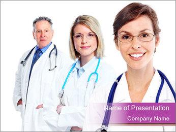 Family doctor PowerPoint Template - Slide 1