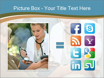 Nurse taking care PowerPoint Template - Slide 21