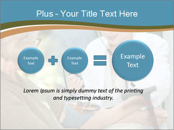 Nurse taking care PowerPoint Template - Slide 75