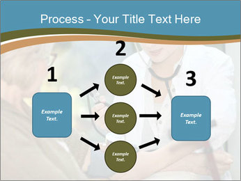 Nurse taking care PowerPoint Template - Slide 92