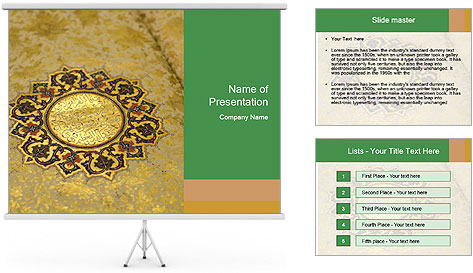 The Holy Quran PowerPoint Template