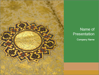 The Holy Quran PowerPoint Templates - Slide 1