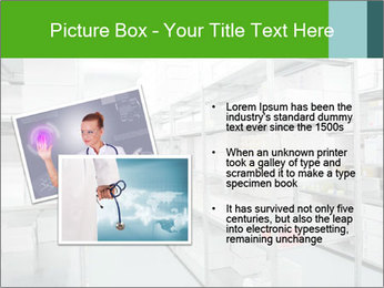 Young cheerful worker PowerPoint Template - Slide 20