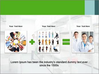 Young cheerful worker PowerPoint Template - Slide 22