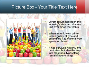 Group of happy people PowerPoint Template - Slide 13